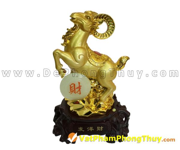 H014 102 mẫu Tượng Dê Phong Thủy tuyệt đẹp và giá trị, món quà độc đáo may mắn
