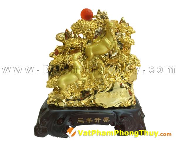 H015 102 mẫu tượng Dê Phong Thủy cực đẹp cho Tết 2015, món quà ý nghĩa số 1