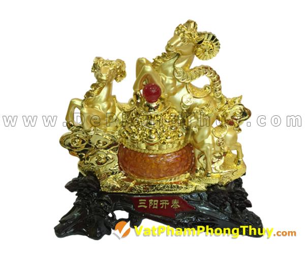 H016 102 mẫu tượng Dê Phong Thủy cực đẹp cho Tết 2015, món quà ý nghĩa số 1