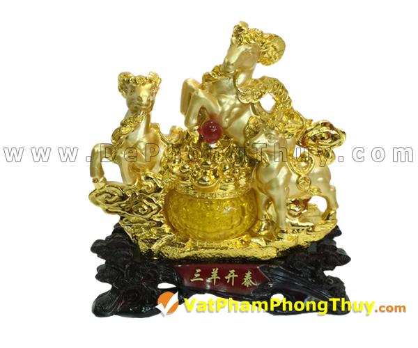H018 102 mẫu tượng Dê Phong Thủy cực đẹp cho Tết 2015, món quà ý nghĩa số 1