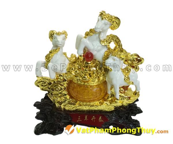 H019 102 mẫu tượng Dê Phong Thủy cực đẹp cho Tết 2015, món quà ý nghĩa số 1