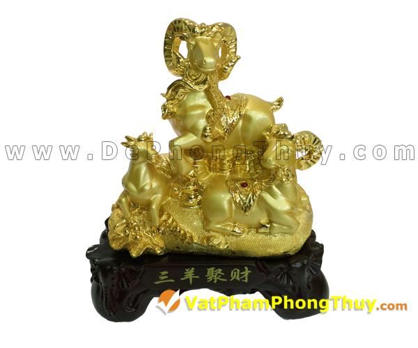 H023 102 mẫu tượng Dê Phong Thủy cực đẹp cho Tết 2015, món quà ý nghĩa số 1