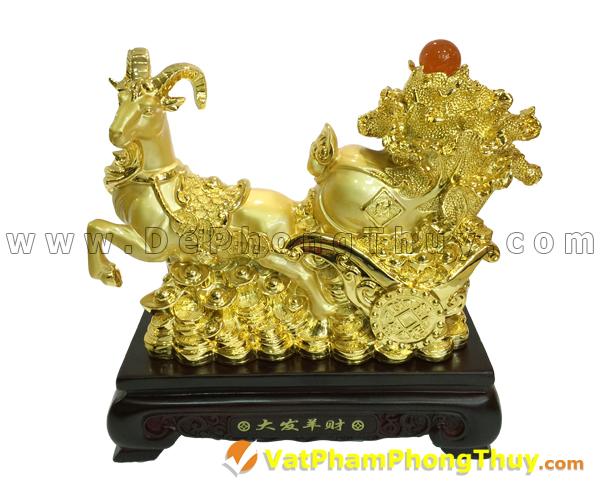H032 102 mẫu tượng Dê Phong Thủy cực đẹp cho Tết 2015, món quà ý nghĩa số 1