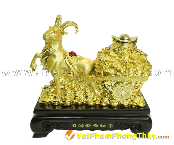 H033 102 mẫu tượng Dê Phong Thủy cực đẹp cho Tết 2015, món quà ý nghĩa số 1