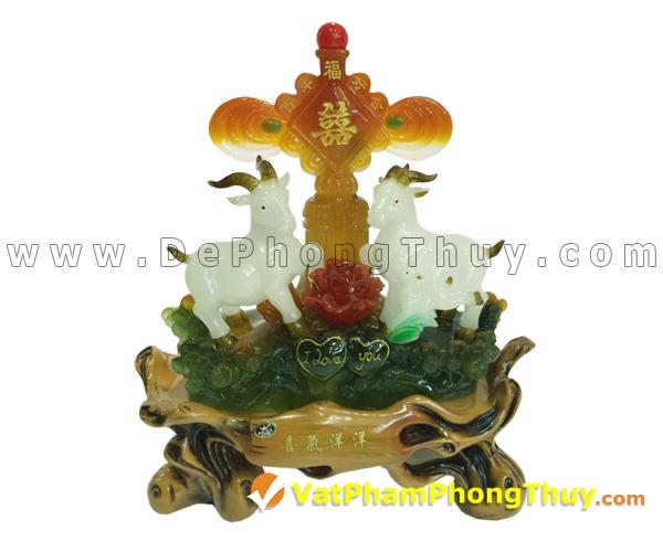 H099 102 mẫu tượng Dê Phong Thủy cực đẹp cho Tết 2015, món quà ý nghĩa số 1