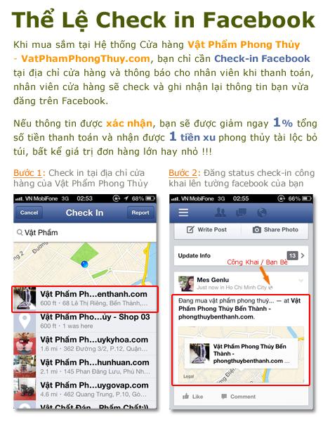 checkin facebook Mua sắm tại Vật Phẩm Phong Thủy: Check in Facebook để Nhận Ưu Đãi