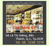Ca Hng Phong Thy Bn Thnh - Trc thuc H Thng Ca Hng VatPhamPhongThuy.com