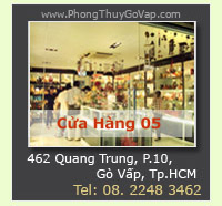 Ca Hng Phong Thy G Vp - Trc thuc H Thng Ca Hng VatPhamPhongThuy.com
