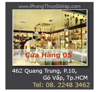 Cửa Hàng Phong Thủy Gò Vấp - Trực thuộc Hệ Thống Cửa Hàng VatPhamPhongThuy.com