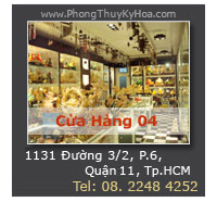 Cửa Hàng Phong Thủy Kỳ Hòa - Trực thuộc Hệ Thống Cửa Hàng VatPhamPhongThuy.com