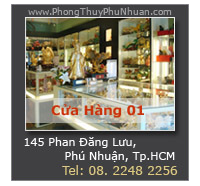 Cửa Hàng Phong Thủy Phú Nhuận - Trực thuộc Hệ Thống Cửa Hàng VatPhamPhongThuy.com
